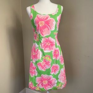 Lilly Pulitzer Dress with Scalloped Hem